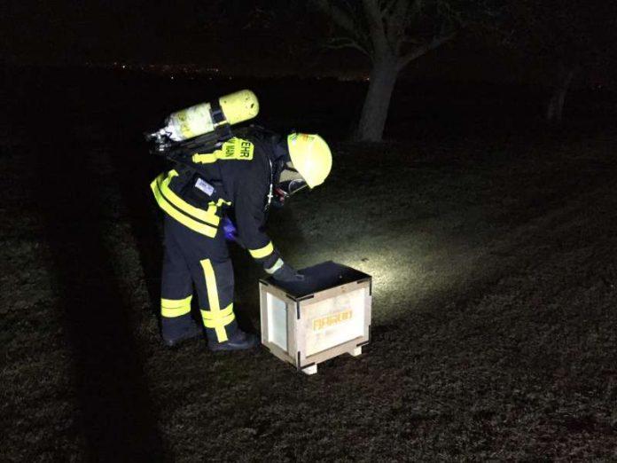 Auslöser war ein Batteriepack einer Photovoltaikanlage (Foto: Feuerwehr)