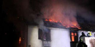 Das Haus brannte aus (Foto: Feuerwehr)
