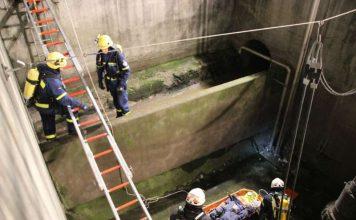 Die Helfer übten die Personenrettung (Foto: THW)