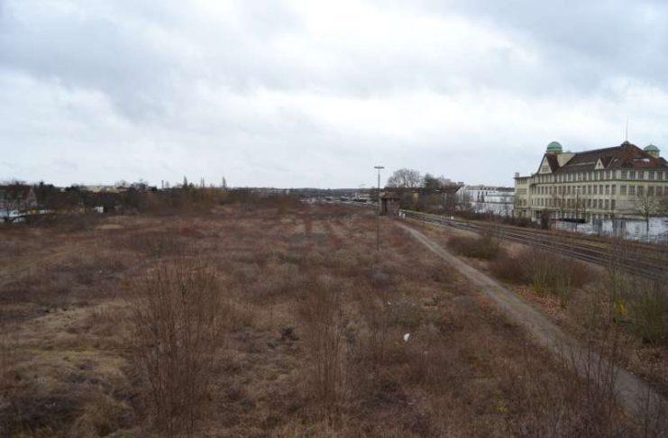 Das Areal des ehemaligen Güterbahnhofs in Landau ist mit Quecksilber belastet. Eine akute Gefahr für Mensch und Umwelt bestehe aber nicht, teilt die Stadtverwaltung mit. (Foto: Stadt Landau in der Pfalz)