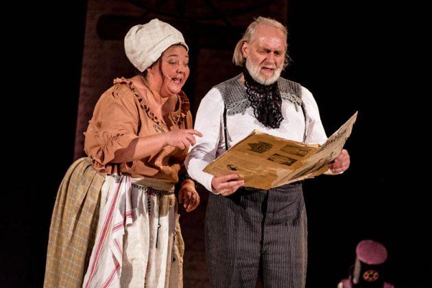Marion La Marché und Rainer Kleinstück (Foto: René van der Voorden)