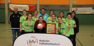 Der SSV Waghäusel ist neuer badischer Futsal-Meister (Foto: bfv)