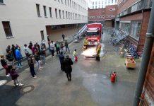 """Brandschutzunterweisung in Flüchtlingsunterkunft """"Alte Post"""""""