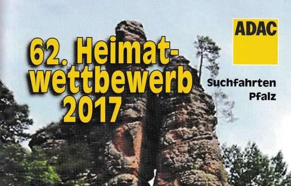 """Titelseite des Teilnehmerheftes """"62. Heimatwettbewerb 2017"""" (Foto: ADAC Pfalz)"""