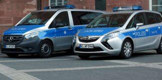 Funkstreifenfahrzeuge der hessischen Landespolizei (Foto: Holger Knecht)