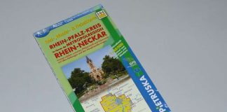 Die aktualisierte Auflage der Radwanderkarte (Foto: Kreisverwaltung)
