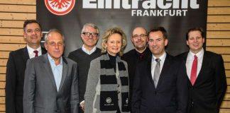 v.l.: Cyril von Recum, Alexander Leip, Jochen Becker, Dr. Kirsten Girnth, Stephan Winterling, Michael Zink, Felix Wirmer (Foto: Arndt Götze)