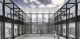 CATS Bibliothekshof (Visualisierung: SSV Architekten, Heidelberg)