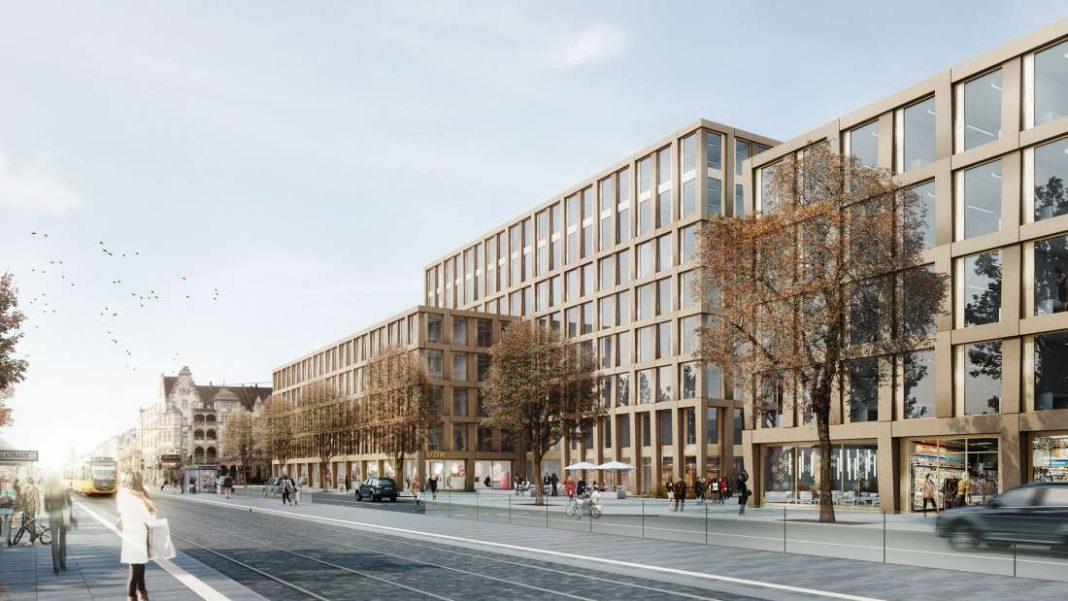 Visualisierung Betriebshof (© Sacker Architekten)