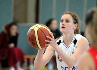 Geht auch am Samstag wieder konzentriert ins Spiel: Lauterns Hannah Jahn. (Foto: Waleri Litawer)