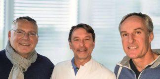 v.l.: die Ärzte Britsch, Lapp und Heist (Foto: Artemed SE)
