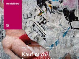 """Die Ausstellung """"Kauf mich?! Frauen und Männer in der Werbung"""" ist von Freitag, 3. März, bis Freitag, 17. März 2017, von Montag bis Freitag jeweils von 8 bis 18 Uhr im Rathausfoyer, Marktplatz 10, 69117 Heidelberg, zu sehen. (Foto: Stadt Heidelberg)"""