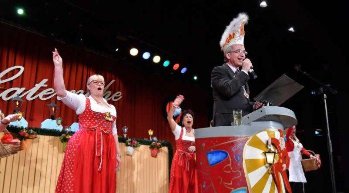 Oberbürgermeister beim CC Laternche (Foto: Rainer Rüffer)