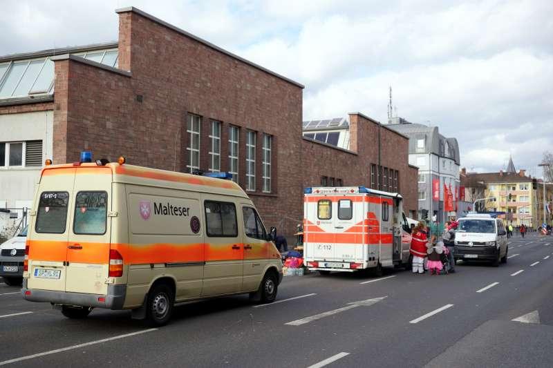 Sanitätsstation in der Rheinstraße (Foto: Holger Knecht)