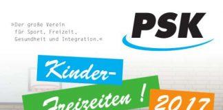 Kinderfreizeit-Flyer (Quelle: PSK)