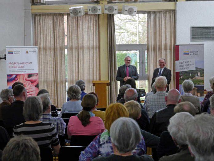 OB Ralf Claus und Bernhard Nacke stellen im St. Kilianhaus die Initiative