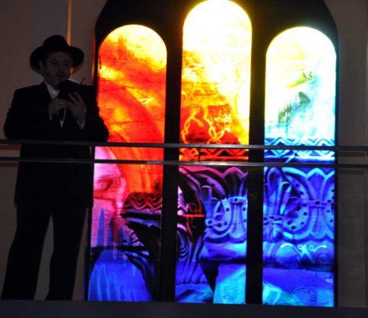 René Blättermanns Glaskunstwerk