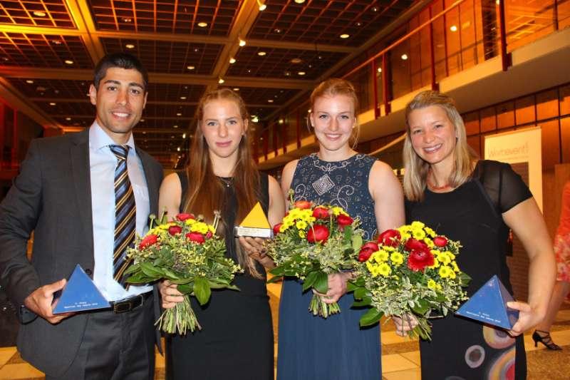 Saeid Fazoula, Carola Schmidt, Sarah Brüßler & Cathrin Dürr (Foto: Martina Amrein)