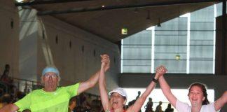 Finishing beim Baden-Marathon (Foto: Marathon Karlsruhe)
