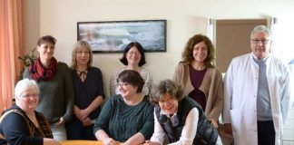 Team der Geburtshilfe Kandel (Foto: ASKLEPIOS)