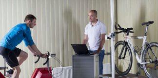 Mit dem Bikescanner können Athleten ihr Rennrad optimal auf ihren Körper abstimmen. (Foto: KIT/Markus Breig)