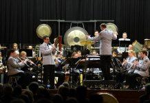 Oberstabsfeldwebel Michael Setzkorn beim 'Concerto for Clarinet'. (Foto: Holger Knecht)