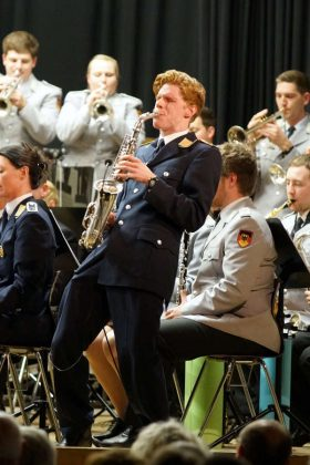 Saxophonsolo (Foto: Holger Knecht)