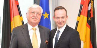 Jürgen Creutzmann (l.) und Dr. Volker Wirsing (Foto: Wirtschaftsministerium RLP)