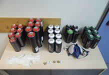Graffiti-Utensilien sichergestellt (Foto: Polizei RLP)