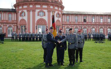Oberst i.G. Olaf von Roeder, Generalmajor Jürgen Knappe und Brigadegeneral Eckart Klink (Foto: Holger Knecht)