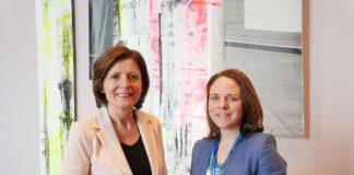Ministerpräsidentin Malu Dreyer und Ministerin Corinne Cahen (Foto: