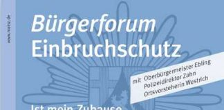 Mainz Plakat Einbruch