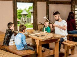 Kindertag im Keltendorf (Foto: DTV)