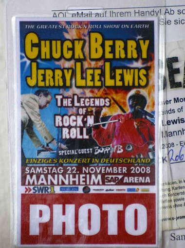 Fotopass für das Konzert in Mannheim (Foto: Helmut Dell)