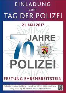 70 Jahre Polizei Rheinland Pfalz