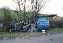 Totalschaden nach schwerem Unfall