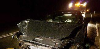 Der Fahrer hat die Kontrolle über sein Fahrzeug verloren
