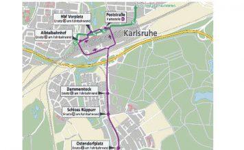 Schienenersatzverkehr wird eingerichtet (Grafik: AVG)