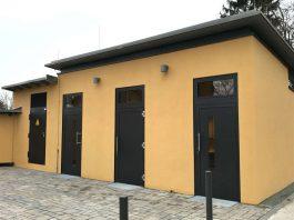 Neue öffentliche Toilettenanlage auf dem Lohrberg (Foto: Stadt Frankfurt)