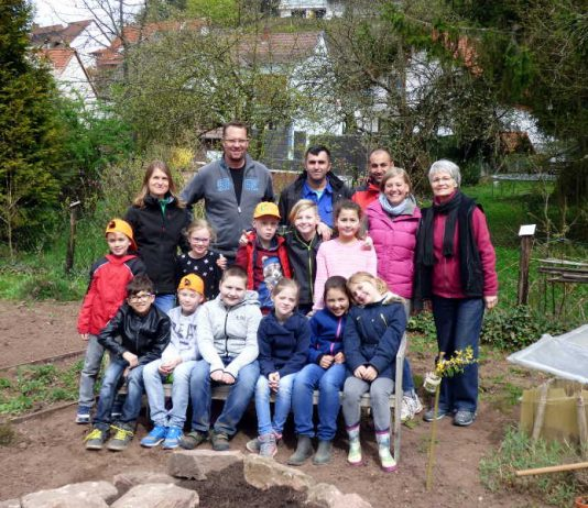 Pflanzaktion Grundschule Erlenbach KL