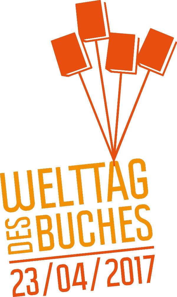 Logo Welttag des Buches (Quelle: Börsenverein des Deutschen Buchhandels)