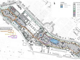 Skizze der Laufstrecken (Quelle: Stadt Ludwigshafen)