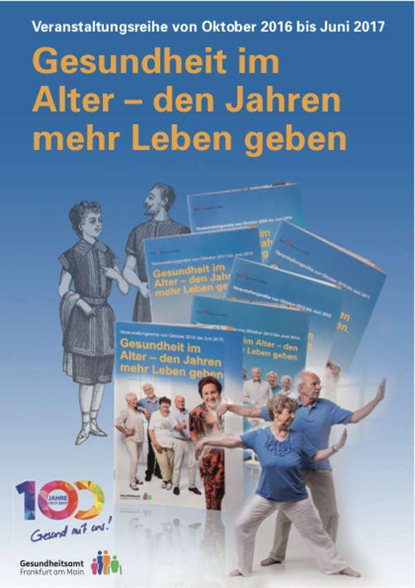 Broschürentitelseite (Foto: Gesundheitsamt Frankfurt)