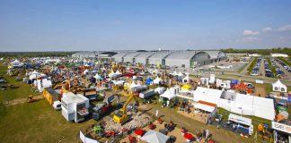 70.000 qm großes Freigelände der recycling aktiv & TiefbauLive (Foto: KMK / Rösner)