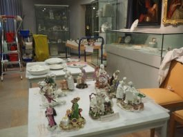 Frühjahrsputz im Erkenbert-Museum (Foto: Stadtverwaltung)