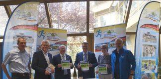 v.l.: Christian Schäfer, Reinhold Niederhöfer, Hans-Ulrich Ihlenfeld, Rolf Kley, Ute Turznik, Klaus Mattern (Foto: Kreisverwaltung Bad Dürkheim)