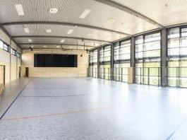 Die saniert Mehrzweckhalle Hohensachsen (Foto: Stadtverwaltung Weinheim)