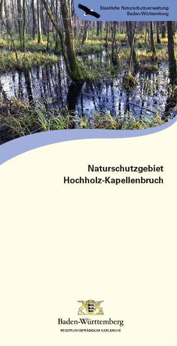 Titelseite Faltblatt Naturschutzgebiet Hochholz-Kapellenbruch (Bildautorin: Dr. Brigitta Martens-Aly)