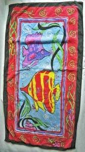 Wer kann Angaben zu diesem Handtuch machen? Wer hat es schon einmal gesehen?
