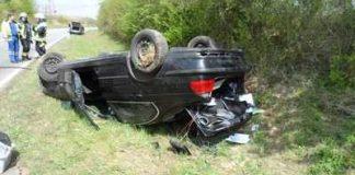 Verkehrsunfall mit leicht verletztem Fahranfänger